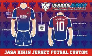 Jasa Pembuatan Kaos Futsal Di Purwokerto Paling Bagus