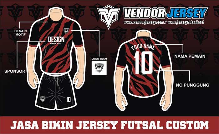 Konveksi Jersey Futsal Printing Di Purwokerto Melayani Gratis Desain